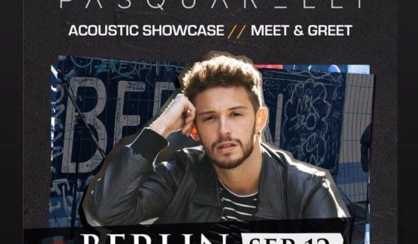 RUGGERO PASQUARELLI ANUNCIA SHOW EN BERLÍN